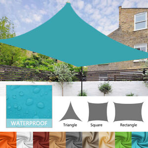 Waterproof Shade Sail Patio Awning Outdoor Garden Pool Sun Canopy Shelter Cover $40.00