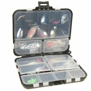 37 Pcs Set Metal Spoon Fishing Lure Kits Spinning Lures with Box Fishing Tackle