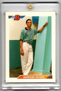 ⚾👑1992 BOWMAN MARIANO RIVERA YANKEES ROOKIE CARD HALL OF FAME 👑⚾ $79.99
