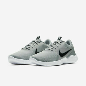 Nike Flex Experience RN 9 Running Shoes Smoke Gray Black CD0225 002 Mens NEW $52.24
