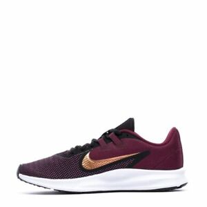 Nike Womens Downshifter 9 Running Shoes Night Maroon Black AQ7486 600 NEW $52.99