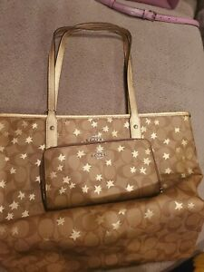 Brand New Coach Purse W Wallet. Tote