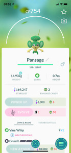 Pokemon TRADE Pansage Regional Pokemon Safe Cheap amp; Fast