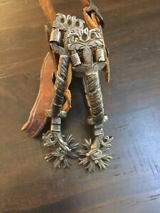 Early And Rare Antique Spanish Colonial Mexican Spurs