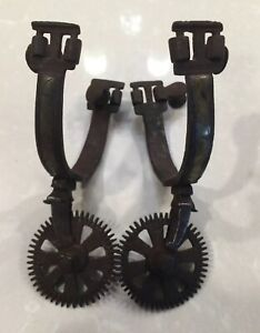Antique Pair Of Mexican Spurs Spanish Colonial