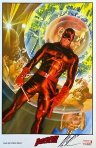ALEX ROSS new DAREDEVIL print SIGNED 2014 SDCC exclusive LAST ONE $79.99