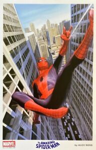 ALEX ROSS new SPIDER MAN print ROMITA Homage SIGNED 2014 SDCC exclusive LAST ONE $79.99