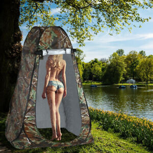 Portable Pop Up Tent Outdoor Camping Shower Toilet Changing Room Privacy Shelter