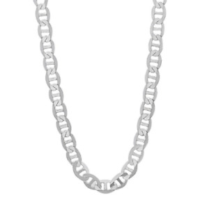 925 Sterling Silver 4.5MM Mariner Chain Necklace $26.00