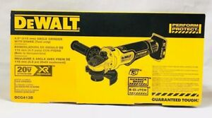 DeWalt 20V DCG413B 4.5quot; Brushless Angle Grinder with Brake Tool Only New in Box $127.00