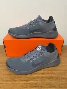 Nike Free RN 2018 Running Shoes Gunsmoke Thunder Gray 942836 011 Mens NEW $81.69