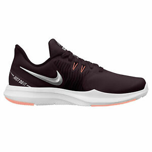 Nike Womens In Season TR 8 Training Shoes Burgundy White AA7773 601 NEW $52.99