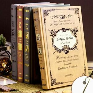 Creative A5 Diary Book European Retro Thick Magic Notebook Classical For Student $26.99
