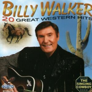 20 Great Western Hits Billy Walker Singing Cowboy CD 2007 Gusto SHIPS FROM USA $7.99