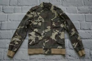 carhartt camouflage jacket bomber S SMALL women cotton W SKOOTER 36 military