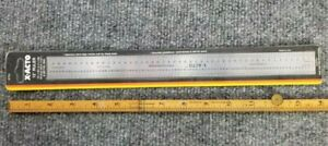 X ACTO 12quot; RULER NOS NEW Sealed X7721 1 48 Inch 1 32quot; amp; Metric $4.95