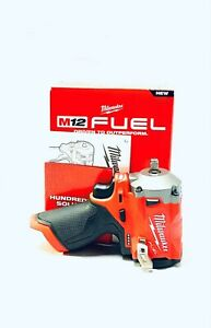"""Milwaukee 2554 20 M12 Fuel 3 8"""" Stubby Impact Wrench Tool Only NEW $149.99"""