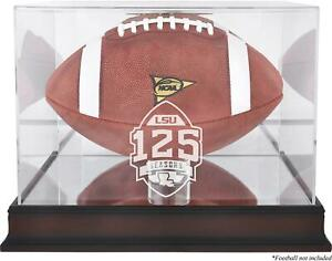 LSU Mahogany 125 Years of Football Anniversary Logo Football Case Mirror Back $52.49