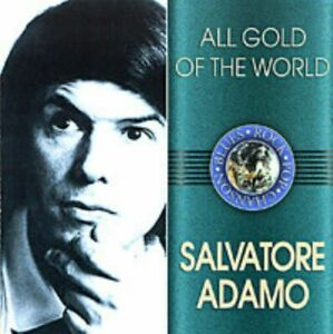 Salvatore Adamo – All Gold Of The World Collectible CD 20 tracks NEW 2004 $27.78