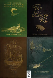 160 RARE BOOKS ON FLY FISHINGTYING ANGLING SALMON TROUT FLIES ROD ON DVD