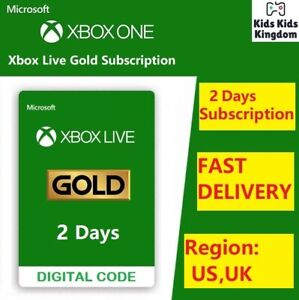 Xbox Live Gold 14 Days Membership Trial code NOT Game Pass Ultimate USA UK $4.49
