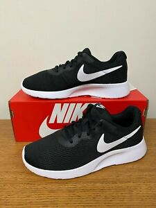 Nike Womens Tanjun 2E WIDE Shoes Black White AQ3553 001 NEW $46.99
