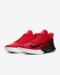 Nike Precision IV Basketball Shoes Red Black White CK1069 600 Mens NEW $57.99
