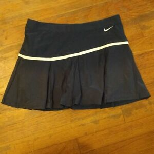 Womens Nike Fit Dry Navy Skirt Skort Tennis Golf Size Small 4 6 Preowned $20.00