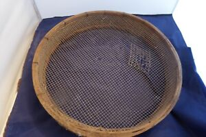 RARE antique wooden gold mining and prospecting screen. $65.99