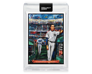 2020 TOPPS PROJECT 2020 #242 MARIANO RIVERA BY ANDREW THIELE $24.95