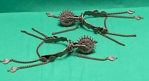 SPANISH COLONIAL MEXICAN CONQUISTADOR STYLE WEDDING HORSE SPURS