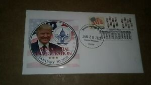 J*50 President Donald Trump 2021 fantasy inauguration cover. Very limited