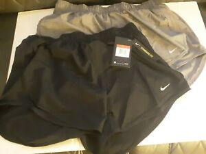 2 New pair of womens large dri fit Nike shorts $18.50