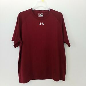 Mens Under Armour Heat Gear performance T Shirt Size XL Loose fit breathable $18.99