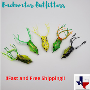 Backwater Topwater Soft Frog Lure 50mm 1 4oz Excellent Bass Lure