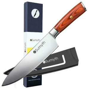 Chef Knife German Stainless Steel 8 Sumyth Professional Knife Balanced NEW