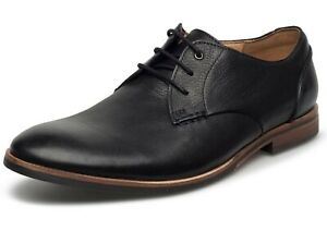 Mens Clarks Broyd Walk Oxford Shoes Black Leather Size 7 M US 261 23860 $99.99