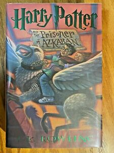 Harry Potter and the Prisoner of Azkaban Hardcover TRUE 1st Edition RIGHT # LINE $300.00