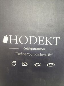 Hodekt Cutting Board Set Of 4 $15.00