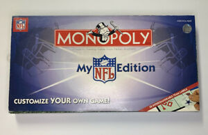 Monopoly My NFL Football Edition 2007 Board Game $39.99