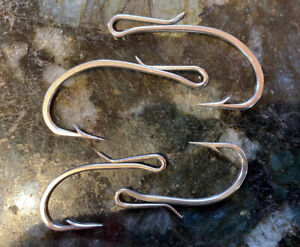 4 Hooks 2 Sizes EARLY for SOUTH BEND lures? SINGLE forged DETACHABLE HOOKS