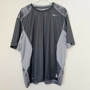 NIKE Pro Combat Fitted Dry Fit Shirt SZ XXL $20.30