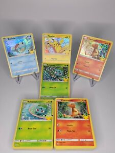 Mcdonalds Pokemon Cards 25th Anniversary COMPLETE YOUR SET EASY FREE SHIPPING $27.99