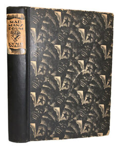 MAD MAN#x27;S DRUM: A NOVEL IN WOODCUTS by LYND WARD 1930 1st Edition 1st Print
