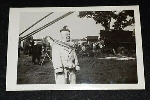 Ringling Brothers Barnum Bailey Clown Trenton NJ Photo Vintage Photograph $7.95