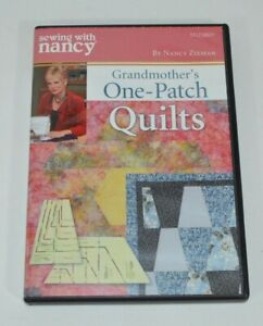 Sewing With Nancy Grandmother#x27;s One Patch Quilts DVD SN2506D Quilting $10.25