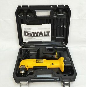 DEWALT RIGHT ANGLE DRILL DW965 WITH BATTERY AND CHARGER 12 VOLT $87.29