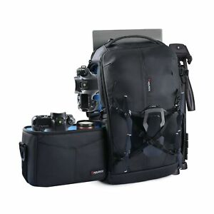 Endurax Camera Backpack with Shoulder Camera Bags for Photographers Professi...