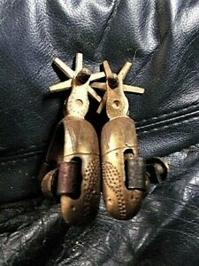 CHILDS rare Antique Mexican Charro Spanish Californian colonial spurs 1800s