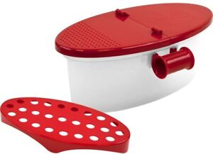 Microwave Pasta Cooker with Strainer Food Grade Heat Resistant Pasta Boat CP4 8